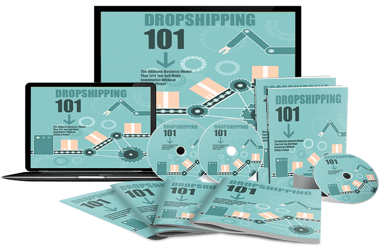 Dropshipping 101 Sales Funnel with Master Resell Rights