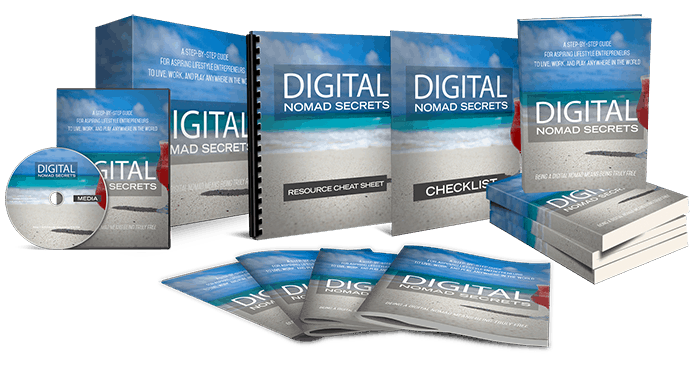 Digital Nomad Secrets Sales Funnel with Master Resell Rights