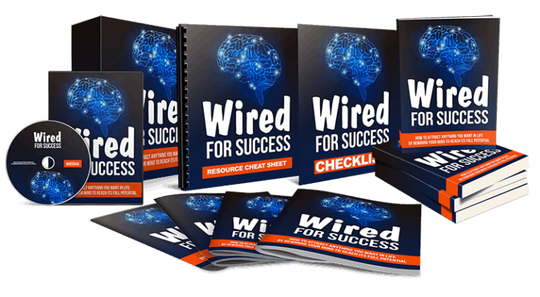 Wired For Success Sales Funnel with Master Resell Rights