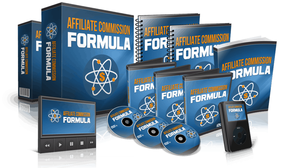 Affiliate Commission Formula Sales Funnel with Master Resell Rights