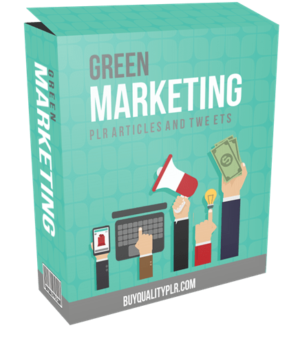 10 Top Quality Green Marketing PLR Articles and Tweets