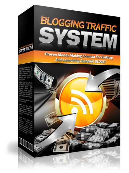 Blogging Traffic System Ebook With Master Resell Rights