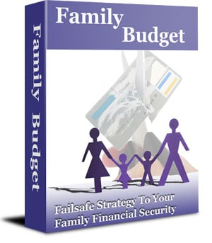 Family Budget Unrestricted PLR eBook