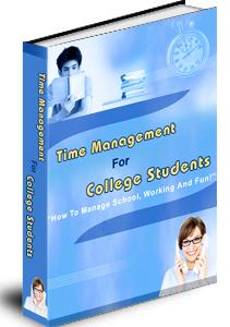 Time Management for College Students Unrestricted PLR eBook