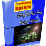 Setting up Your First Business Website Unrestricted PLR eBook