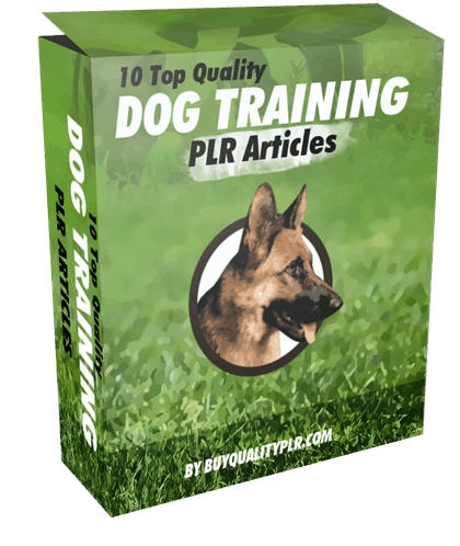 10 Top Quality Dog Training PLR Articles