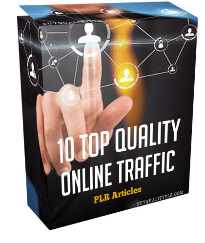10 Top Quality Online Traffic PLR Articles