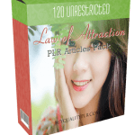 120 Unrestricted Law of Attraction PLR Articles Pack