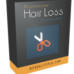 190 Unrestricted Hair Loss PLR Articles Pack