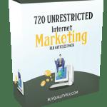 720 Unrestricted Internet Marketing PLR Articles Pack