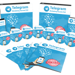 Telegram Marketing Secrets Sales Funnel with Master Resell Rights
