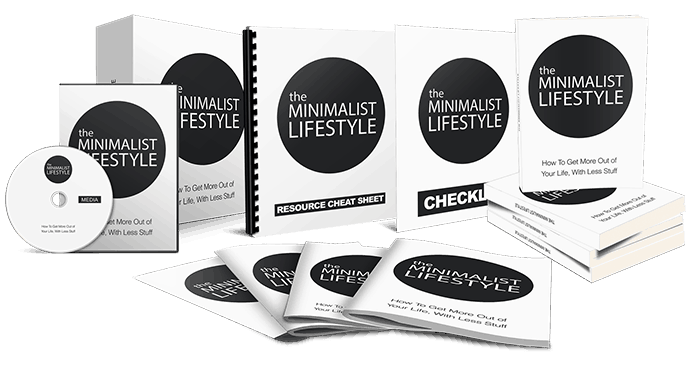 Minimalist Lifestyle Sales Funnel with Master Resell Rights