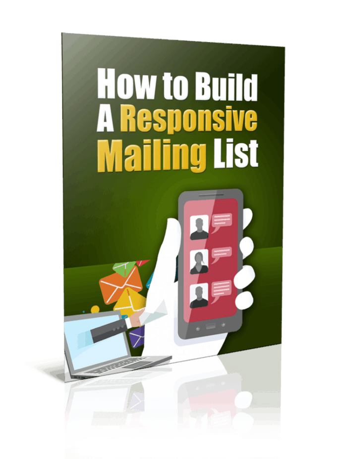 How to Build A Responsive Mailing List PLR Report Resell PLR