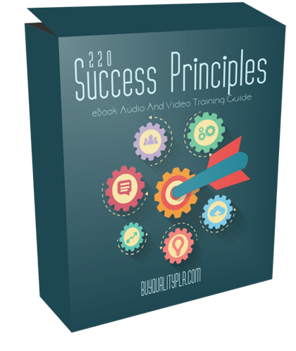 220 Success Principles eBook, Videos and Audio Training with Resell Rights