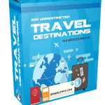 500 Unrestricted Travel Destinations PLR Articles Pack V2