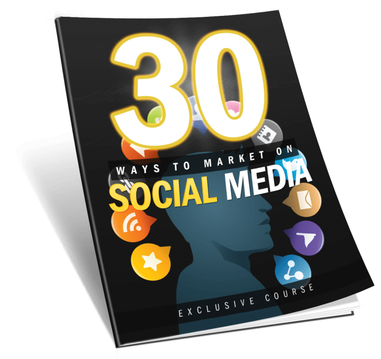 30 Ways To Market Using Social Media List Building Package