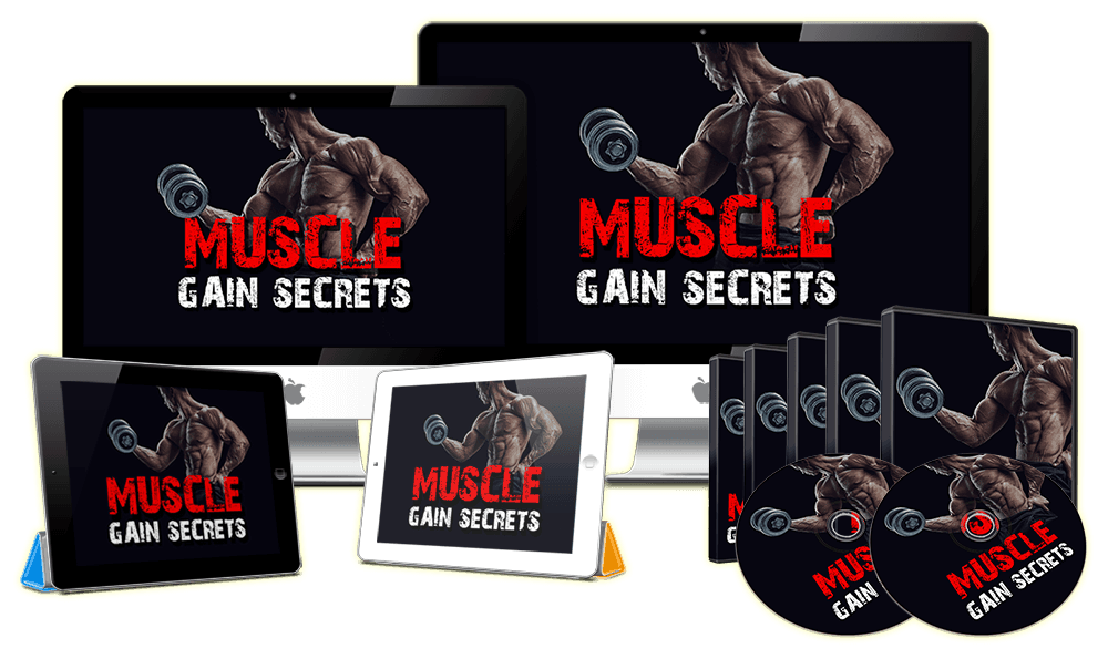 Muscle Gain Secrets Sales Funnel with Master Resell Rights Videos
