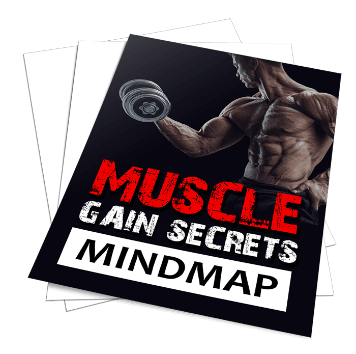 Muscle Gain Secrets Sales Funnel with Master Resell Rights Mindmap