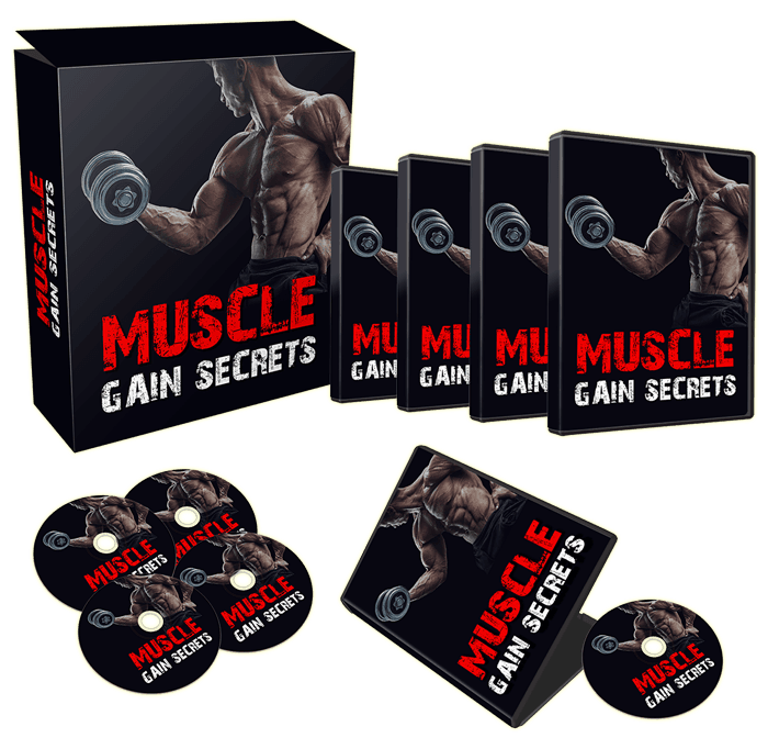 Muscle Gain Secrets Sales Funnel with Master Resell Rights