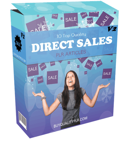 10 Top Quality Direct Sales PLR Articles V2