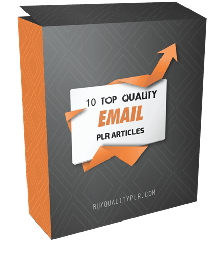 10 Top Quality Email PLR Articles