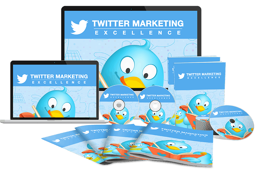 Twitter Marketing Excellence Sales Funnel with Master Resell Rights