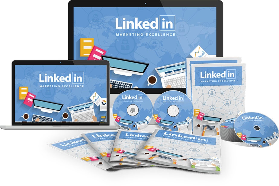 LinkedIn Marketing Excellence Sales Funnel with Master Resell Rights