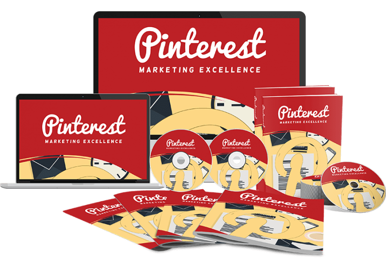Pinterest Marketing Excellence Sales Funnel with Master Resell Rights