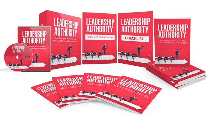 Leadership Authority Sales Funnel with Master Resell Rights