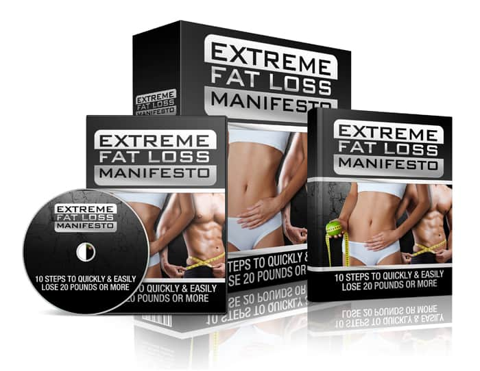 Extreme Fat Loss Manifesto Sales Funnel with Master Resell Rights Bundle