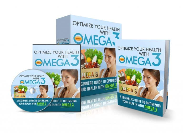 Optimize Your Health With Omega-3 Sales Funnel with Master Resell Rights