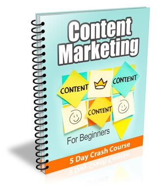Content Marketing 5 Lessons PLR Newsletter eCourse