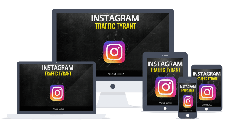 Instagram Traffic Tyrant Sales Funnel with Master Resell Rights