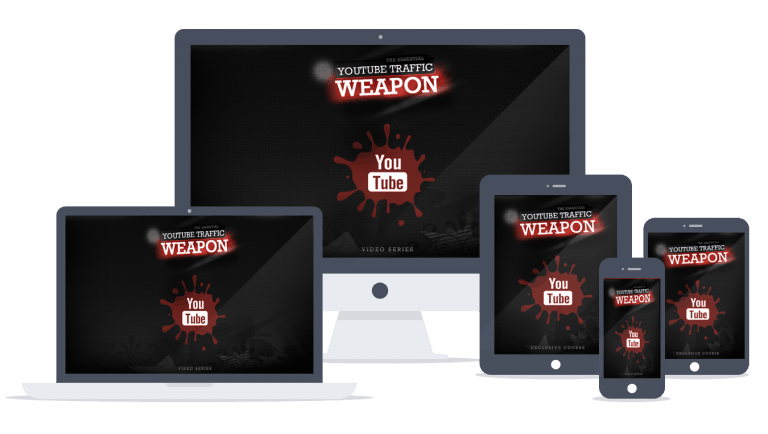YouTube Traffic Weapon Sales Funnel with Master Resell Rights