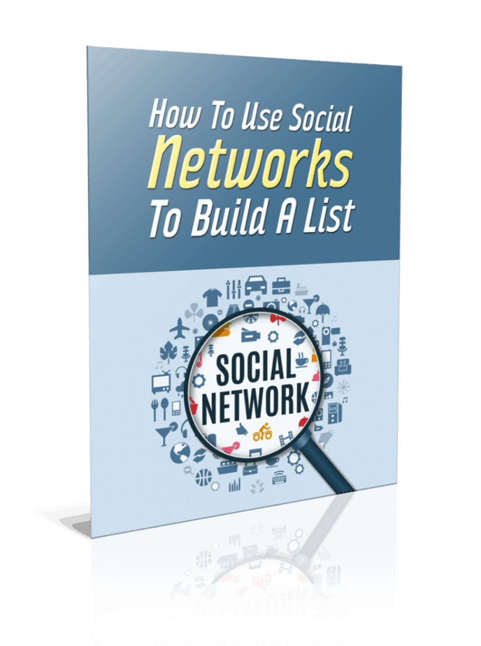 How To Use Social Networks To Build A List PLR Report Resell PLR