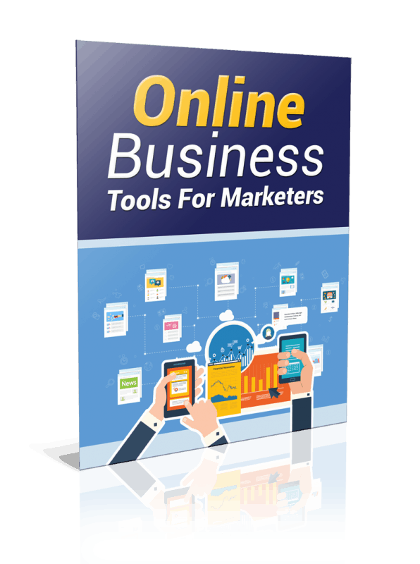 Online Business Tools For Marketers PLR Report Resell PLR