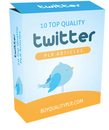 10 Top Quality Twitter PLR Articles