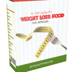 10 Top Quality Weight Loss Food PLR Articles