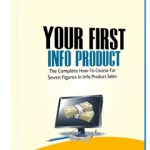 Your First Info Product Video Course