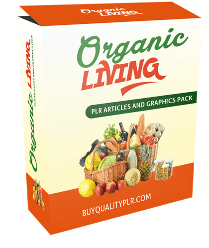 11 Top Quality Organic Living PLR Articles Pack
