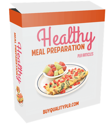 15 Top Quality Healthy Meal Preparation PLR Articles