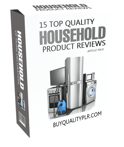 15 Top Quality Household Product Reviews Article Pack