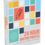 24 Hour Writing Profits eCover