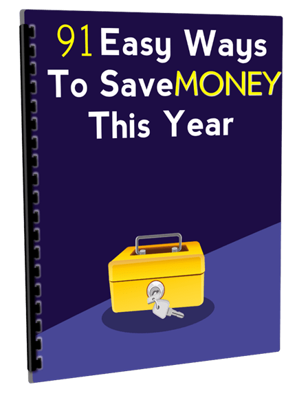 91 Easy Ways to Save Money This Year PLR Report