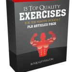 15 Top Quality Exercises For The Winter Holiday PLR Articles Pack