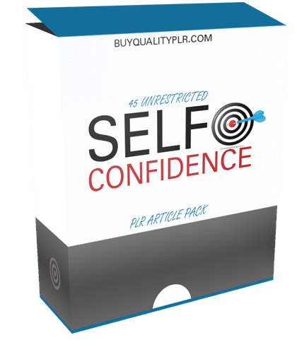 45 Unrestricted Self Confidence PLR Article Pack