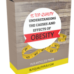 15 Top Quality Causes and Effects of Obesity PLR Ebook