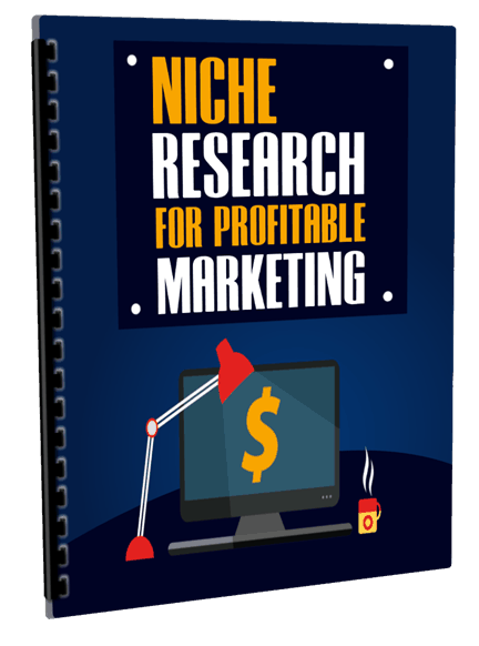 Niche Research For Profitable Marketing eCover