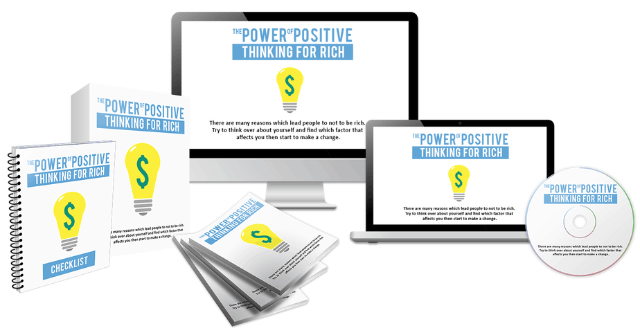 The Power of Positive Thinking For Rich Bundle