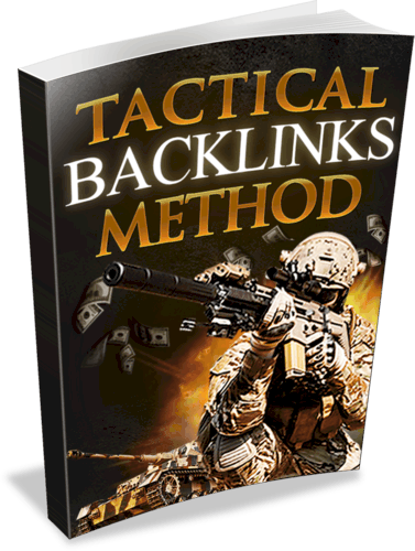 Tactical Backlinks Method Unrestricted PLR eBook